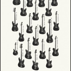 Electric Instrument Co.- Fender Guitar print by Jacob Borshard!