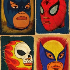 Super Libre! print set By Jon Smith