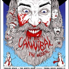 Cannibal the Musical print by Cody Schibi- now ON SALE!