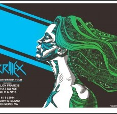 SKRILLEX posters ON SALE INFO!
