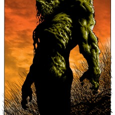 Bernie Wrightson's SUNSET print- exclusive at Mondocon!