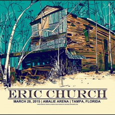 3 New Eric Church prints by Tim Doyle!