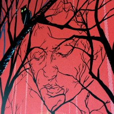 """In The Trees"" Twin Peaks 25th anniversary metallic edition!"