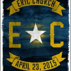 3 Eric Church prints from Jon Smith!