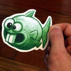BOSS FIGHT- Stretch Goal #2 DOPEFISH STICKERS!