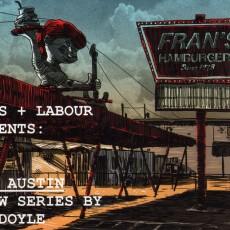 "Tim Doyle's ""LOST AUSTIN"" art reception 10/22 in Austin!"