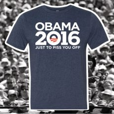 OBAMA 2016 T-shirt Now on Sale!