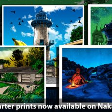 UnReal Estate KICKSTARTER prints- on sale now!