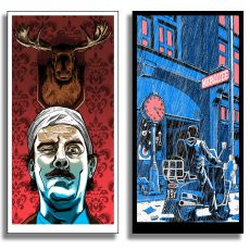 """Fawlty Towers"" and ""Quadrophenia"" UK excl. prints NOW AVAILABLE!"