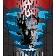 TOTAL RECALL- show poster from Spoke Art!