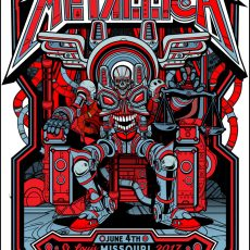 Metallica print by Jesse Philips!
