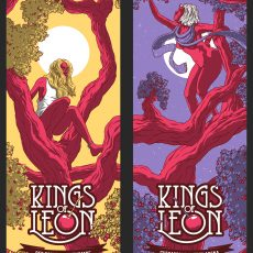 FINAL Kings of Leon posters by Florey and Grissom, and more!