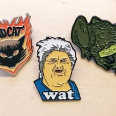 New Pins from NAKATOMI!