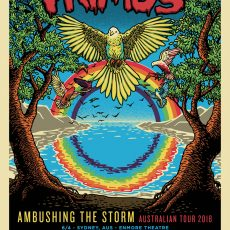 PRIMUS- Australian VIP print by Grissom and Doyle!