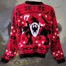 DEATH DEALER 'Ugly' sweater- shipping NOW for the holidays!
