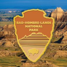 Bad Hombre-Lands NPS- Enamel Pin now available!