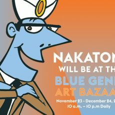NAKATOMI x BLUE GENIE art Bazaar- open NOW!