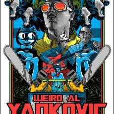 WEIRD AL- Tour Kick off print by Doyle! On Sale info-