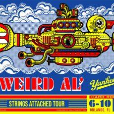 Weird Al Orlando by Jesse Philips!