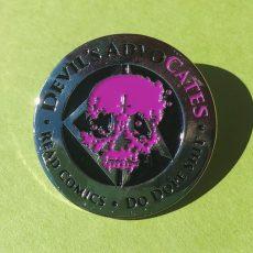Devil's AdvoCATES Enamel Pin!