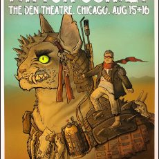 PATTON OSWALT- Chicago print by Miss Monster!