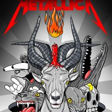 METALLICA- Moscow by Steve Seeley!