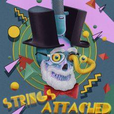 """Weird Al"" Dr. Demento print by SKINNER!"