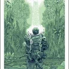 """AREA X"" Annihilation inspired art print by Erik Whalen!"