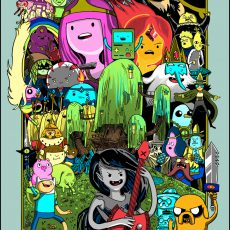 Adventure Time is back!! (in print and TV!)