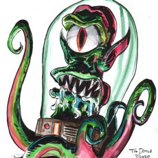 Quarantine Commissions 2! Get a Watercolor study by Doyle!