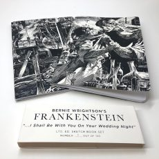 "Wrightson's Frankenstein ""Wedding Night"" Sketchbook sets!"