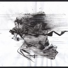 Paul Pope Original Art giveaway ends on THURSDAY!