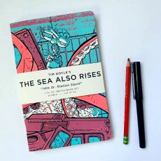 """Sea Also Rises: Squid"" SKETCHBOOKS- now available!"