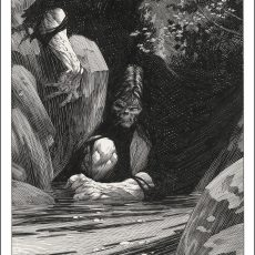 "Bernie Wrightson ""Despondence"" Artist Edition Frankenstein print- available Thursday!"