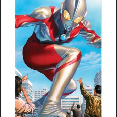 Celebrate ULTRAMAN DAY with new prints from Tom Whalen and Alex Ross!