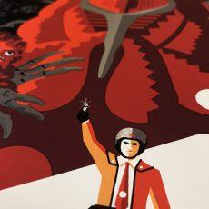 Ultraman Drops TOMORROW! Here's a look at Tom Whalen's Metallic Variant!